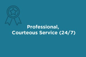 Our experienced, licensed, professional property managers treat every client and tenant with courtesy and respect. We pride ourselves on communication and are available on a 24/7 basis for any problem or emergency that may arise at any time, day or night.